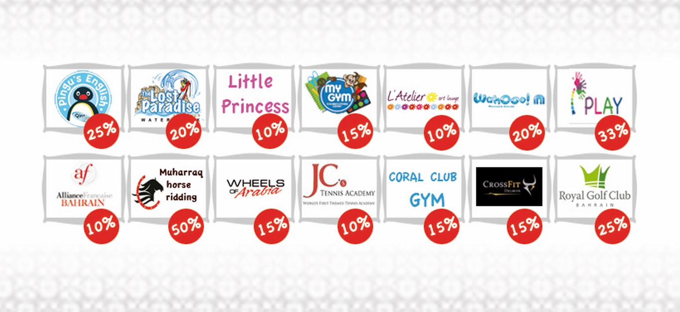 Together Loyalty Card Bahrain Logos