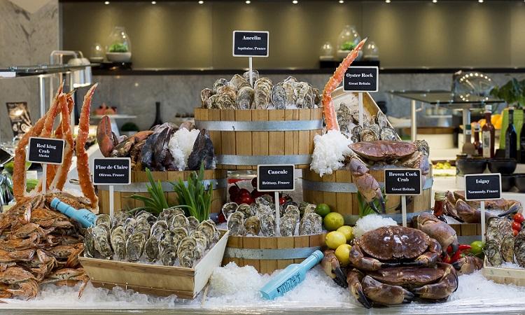 17% discount-Crabs Oysters downtown rotana manama bahrain